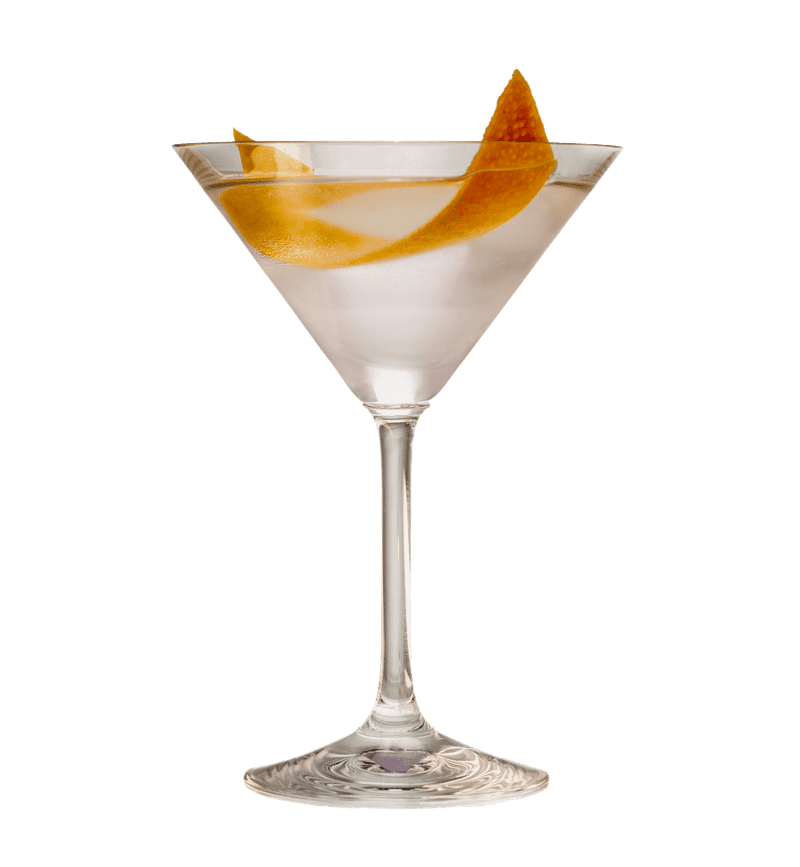 REVERSE VESPER MARTINI cocktail