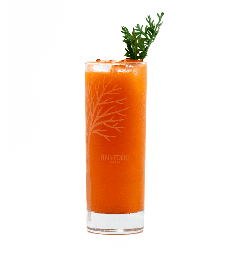 BELVEDERE SUPER COCKTAIL - CARROT cocktail
