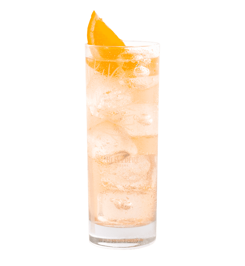 BELVEDERE BITTER ORANGE SODA cocktail