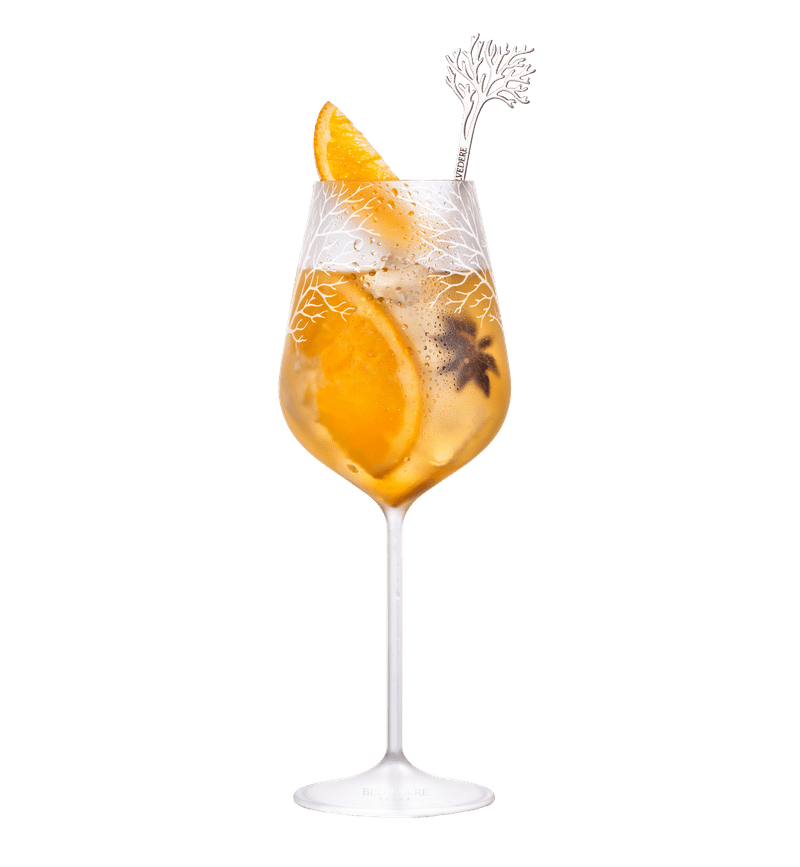 BELVEDERE SPICED SPRITZ cocktail