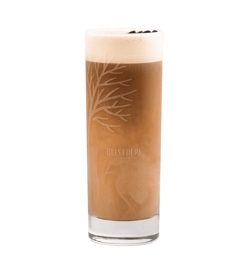 BELVEDERE ICED LATTE cocktail
