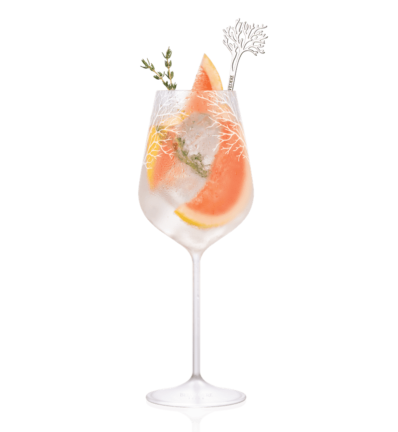BELVEDERE PINK-GRAPEFRUIT-SPRITZ cocktail