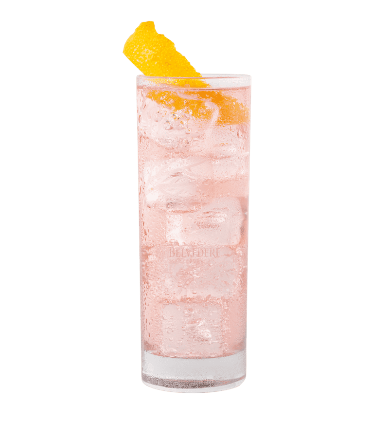 BELVEDERE HERBAL SODA cocktail